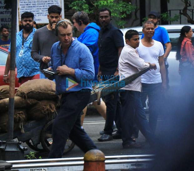 TENET: Dimple Kapadia, Christopher Nolan, John David Washington shoot in Mumbai sans Robert Pattinson