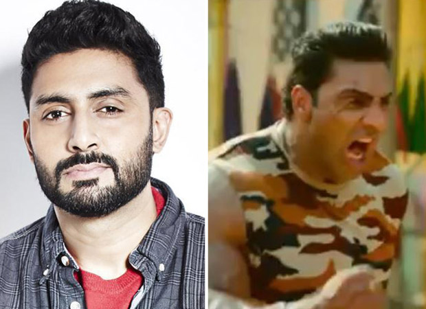 Abhishek Bachchan gave a hilarious response when a fan who spotted his lookalike in the trailer of Marjaavaan