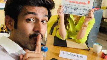 Kartik Aaryan plays 'HideNSeek' with mystery actress; netizens root for Kriti Sanon