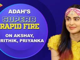 """Akshay Kumar - Fitness advice, Hrithik Roshan -... "" Adah Sharma Rapid Fire Bypass Road"