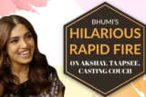 """Akshay Kumar - The SEXIEST Man In Bollywood"" Bhumi Rapid Fire Casting Couch Housefull 4"
