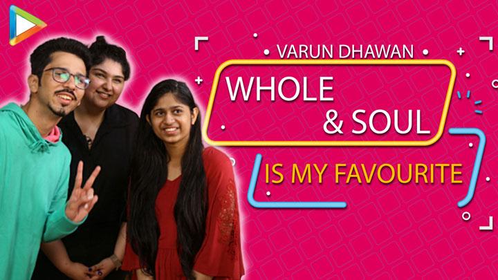 """""""Varun Dhawan is an All-Rounder"""" Anshula Kapoor #FANKINDXVARUN"""