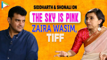 """Zaira Wasim completely did her COMMITMENT"" Shonali Bose The Sky Is Pink Siddharth Farhan"