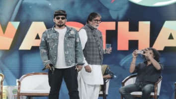 Amitabh Bachchan grooves to the tune of rapper Naezy at Banega Swasth India