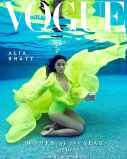 Alia Bhatt On The Cover Of Vogue