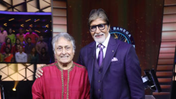 Amitabh Bachchan receives special surprise from Ustad Amjad Ali Khan on his 77th birthday on the sets of Kaun Banega Crorepati