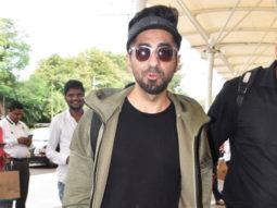 Ayushmann Khurrana spotted at airport, Mumbai