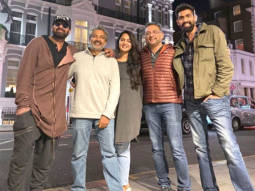 Baahubali team Rana Daggubati, Prabhas, Anushka Shetty and SS Rajamouli reunite in London