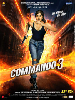 First Look Of Commando 3