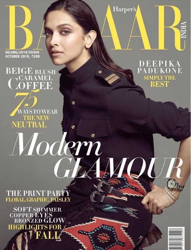 Deepika Padukone's alluring look on Harper's Bazaar cover will leave you mesmerized!