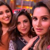 Farah Khan kickstarts her quiz show with Parineeti Chopra and Sania Mirza