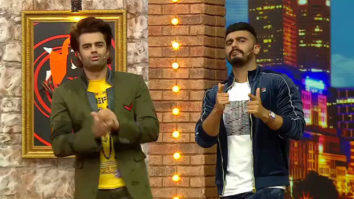 Housefull 4 Arjun Kapoor and Maniesh Paul take Akshay Kumar's Bala Challenge