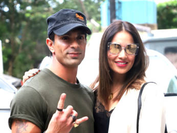 Photos: Karan Singh Grover and Bipasha Basu snapped at PVR, Juhu