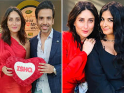 Kareena Kapoor Khan stuns in bright red, gets Tusshar Kapoor and Rhea Kapoor as guests on What Women Want