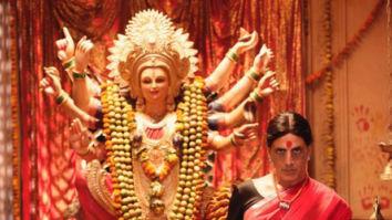 LAXMMI BOMB: Akshay Kumar unveils his saree-clad look on the occasion of Navratri