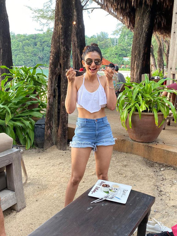 PHOTOS: Rakul Preet Singh spends her 29th birthday by the beach in Phuket