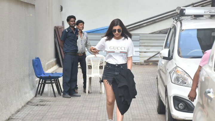 Parineeti Chopra spotted at Dharma Office, Khar
