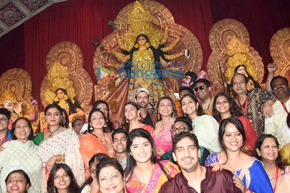 Photos: Alia Bhatt, Hrithik Roshan and Rani Mukerji snapped during Durga pandal darshan