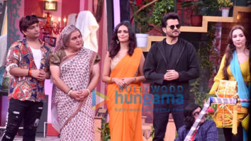 Photos: Arjun Kapoor and Anil Kapoor snapped on the sets of Movie Masti with Maniesh Paul