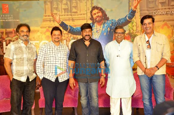 Photos Chiranjeevi and Ravi Kishan grace the success meet of 'Syeraa Narasimha Reddy' (6)