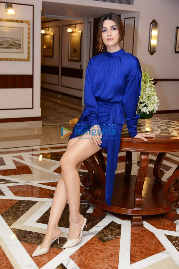 Photos Housefull 4 cast snapped during promotions at Imperial hotel in New Delhi (1)