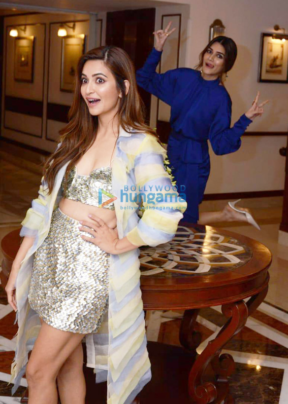 Photos Housefull 4 cast snapped during promotions at Imperial hotel in New Delhi (4)