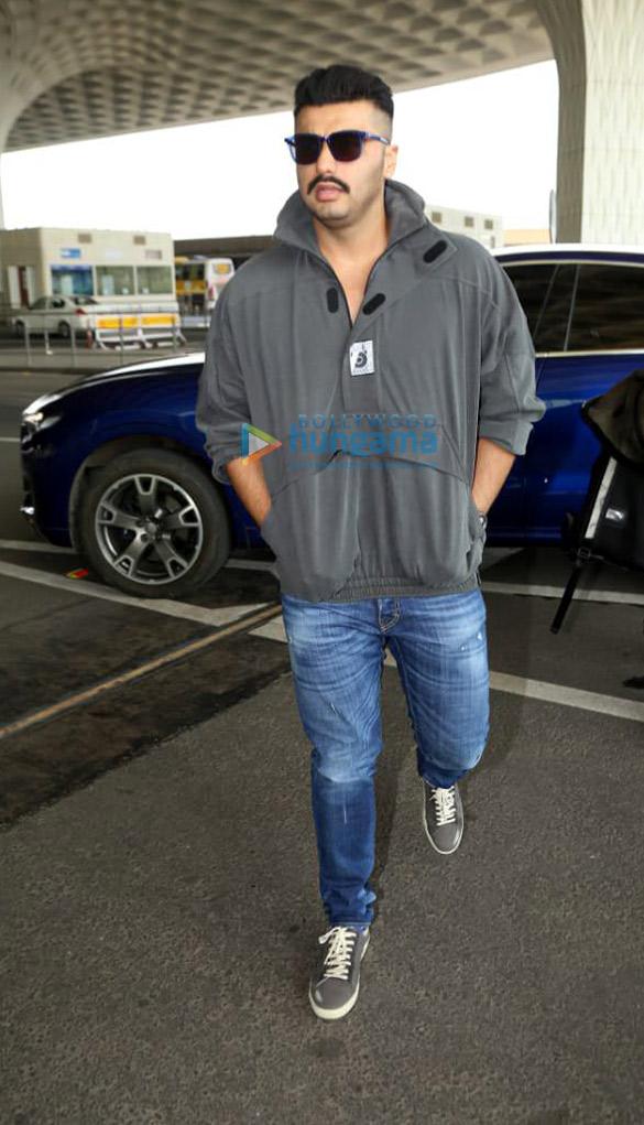 Photos: Kiara Advani, Disha Patani, Arjun Kapoor and Aditya Roy Kapur snapped at the airport