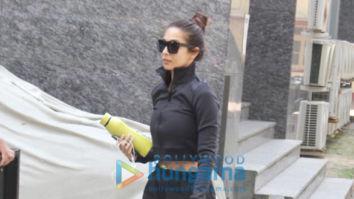 Photos: Malaika Arora, Kartik Aaryan and Shahid Kapoor snapped at I Think Fitness