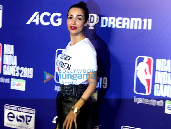 Photos Malaika Arora, Sonam Kapoor Ahuja and others grace the red carpet of NBA India Games 2019 (4)