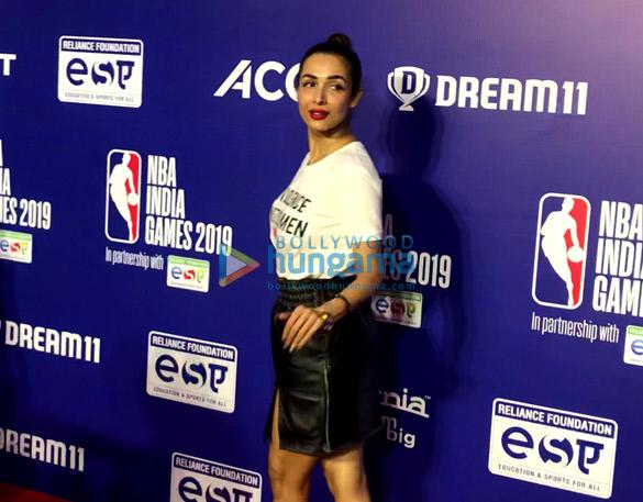 Photos Malaika Arora, Sonam Kapoor Ahuja and others grace the red carpet of NBA India Games 2019 (6)