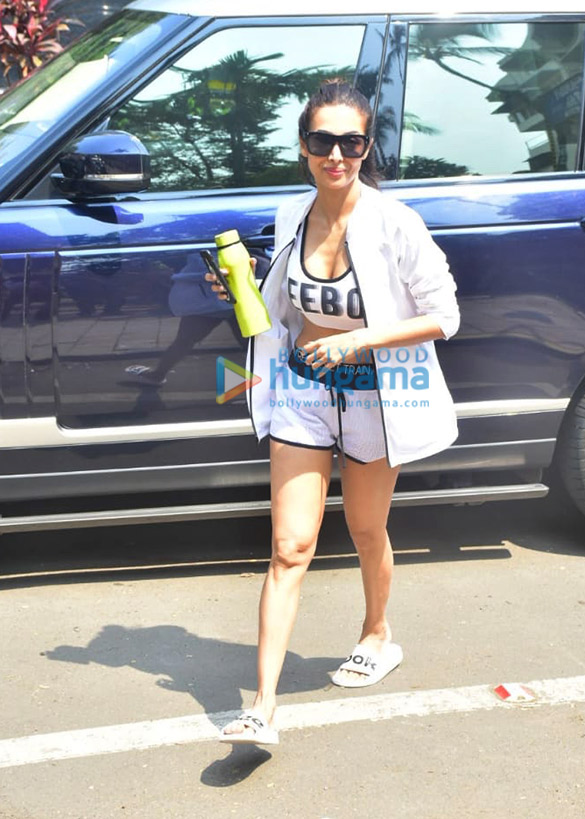 Photos: Malaika Arora snapped at Diva Yoga