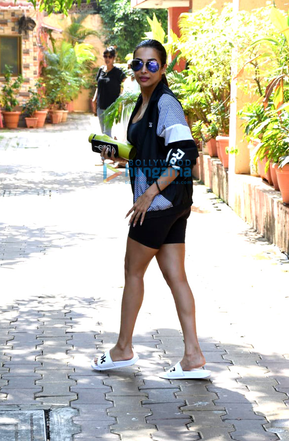 Photos: Malaika Arora snapped at Diva Yoga Studio in Bandra