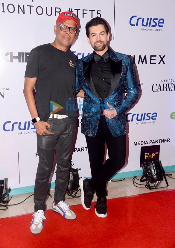 Photos: Neil Nitin Mukesh and Malaika Arora walks the ramp as the show stopper at Tech Fashion Tour 2019