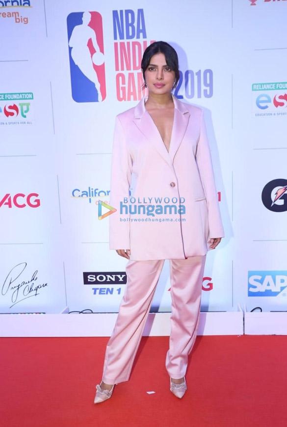 Photos Priyanka Chopra Jonas, Rannvijay Singh and others snapped at NBA Games 2019 party (1)