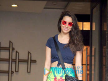 Photos: Shraddha Kapoor spotted at the gym in Juhu