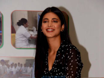 Photos: Shruti Haasan snapped at RPG foundation, an NGO committed towards women empowerment