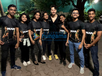Photos: Tiger Shroff snapped with Team Tiger post War release