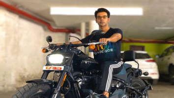 Rajkummar Rao buys a new Harley Davidson worth over Rs. 14 lakhs!