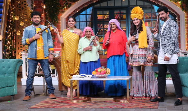 The Kapil Sharma Show: Taapsee Pannu and Bhumi Pednekar reveal they smoked hukkah for their Saand Ki Aankh roles