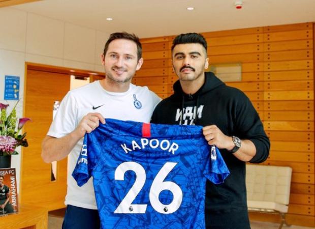 WHOA! Arjun Kapoor announced as the official Indian brand ambassador for Chelsea Football Club