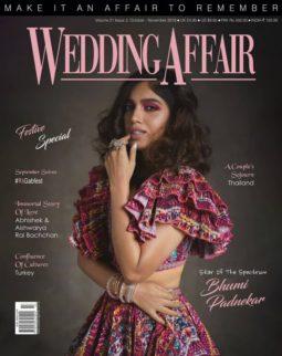 Bhumi Pednekar On The Covers Of Wedding Affair