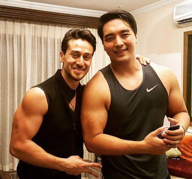 Tiger Shroff's adorable throwback photo with childhood friend Rinzing Denzongpa is winning the internet