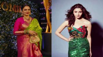 Watch: Rekha imitates Alia Bhatt's popular dialogue from the film Gully Boy