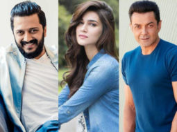 Watch: Housefull 4 cast Riteish Deshmukh, Bobby Deol and Kriti Sanon discuss their box-office expectations