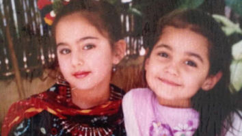 Sara Ali Khan's picture with her 'first friend' is a treat for her fans
