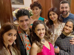Shilpa Shetty, Raj Kundra, Tahira Kashyap and others attend Manish Malhotra's Diwali bash