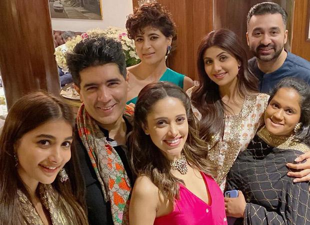 Shilpa Shetty, Raj Kundra, Tahira Kashyap and others attend Manish Malhotra's Diwali bash