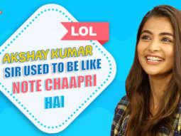 """Akshay Kumar sir was like listen you are doing HOUSEFULL now you need to.""Pooja Critics' Opinions"