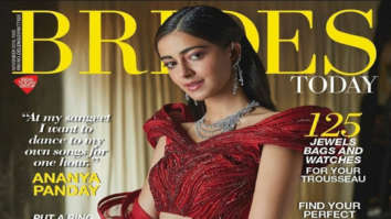 Ananya Panday on the cover of Brides Today