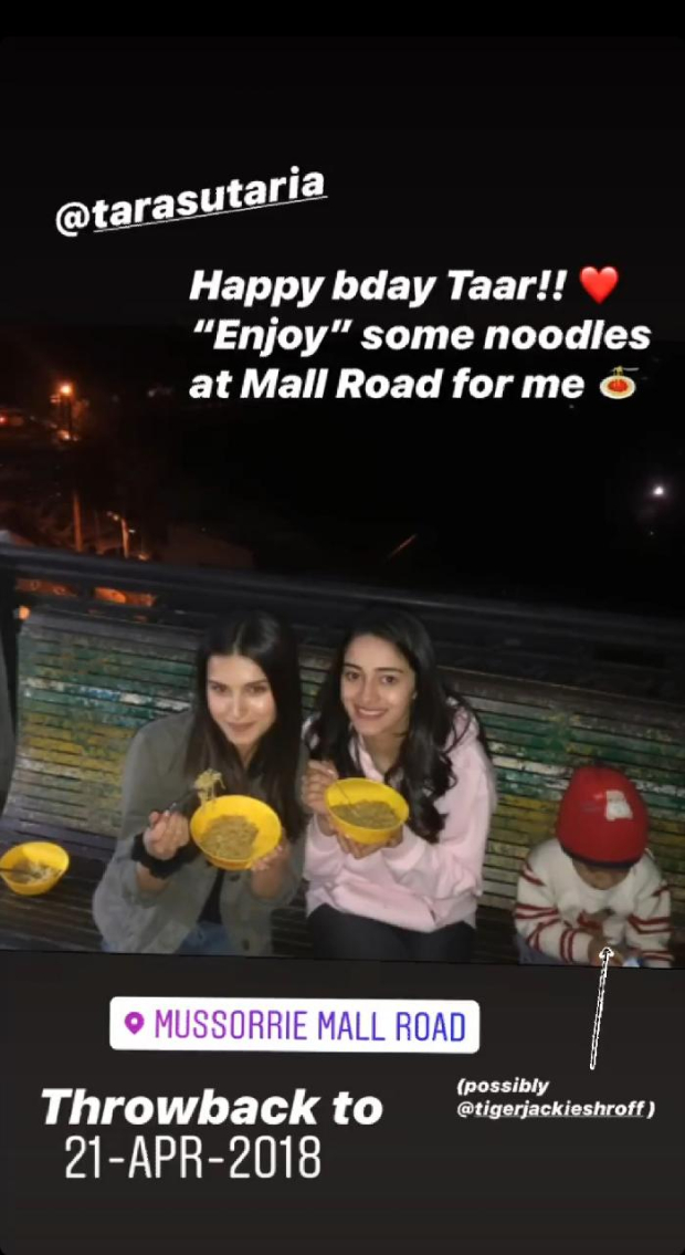 Ananya Panday's birthday wish for Student Of The Year 2 co-star Tara Sutaria is adorable
